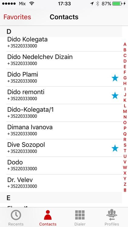 idManager and dialer screenshot-3