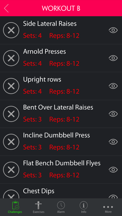 Ultimate Workout to Develop a Dramatic V Taper Pro screenshot one