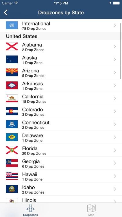 Dropzones - USPA Dropzone Finder screenshot-4