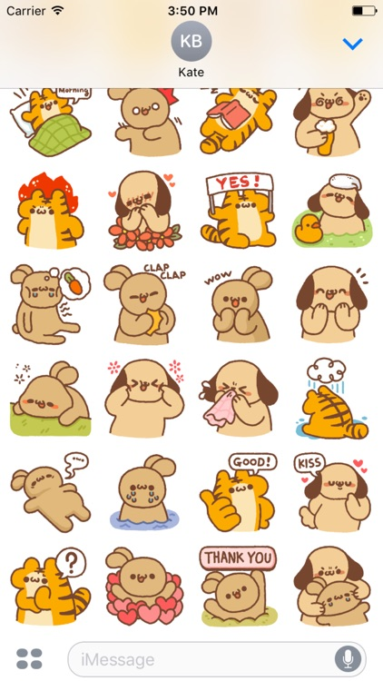 Dongle Animal Stickers