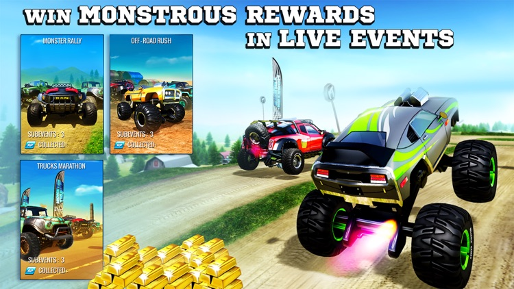 Monster Trucks Racing screenshot-4