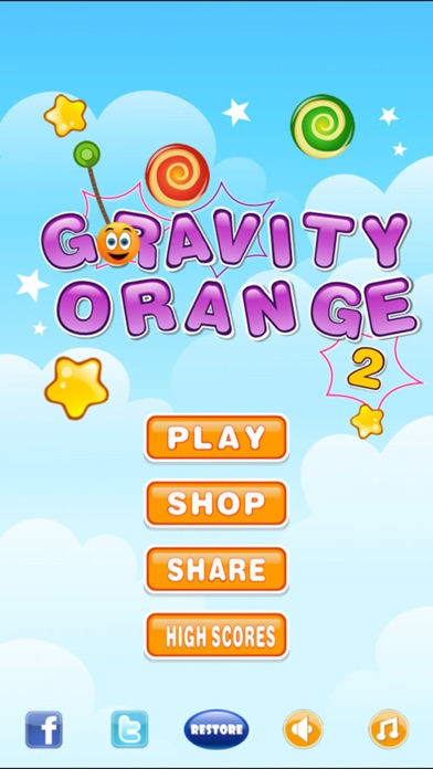 Screenshot #1 pour Gravity Orange 2 Lite