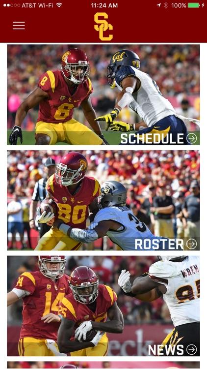 USC Trojans Gameday App