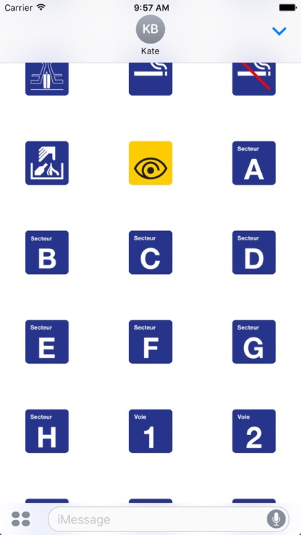 CFF pictogrammes