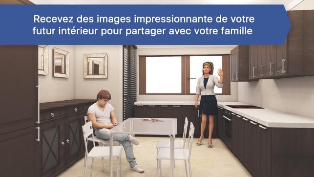 Creer sa cuisine pour ikea 3d dans l app store for Ikea cree sa cuisine