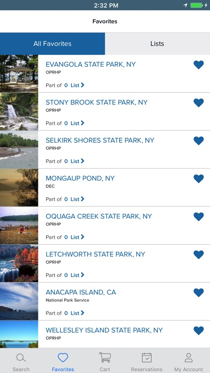 ReserveAmerica Camping - Find available campsites
