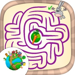 Mazes for kids – fun labyrinth brain games