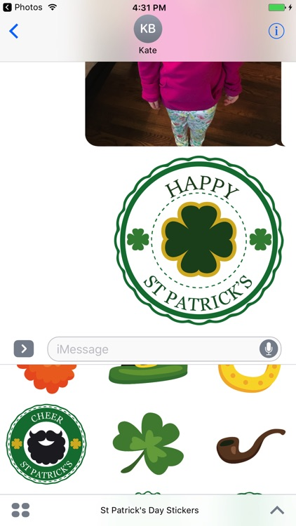 Happy St Patrick's Day Sticker Pack screenshot-4