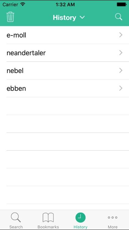 Từ Điển Đức Việt (German Vietnamese Dictionary) screenshot-4