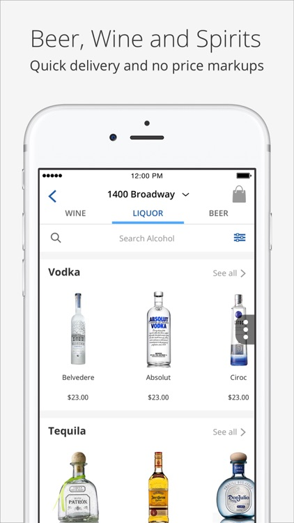 Delivery.com - Food, Alcohol, Groceries & Laundry