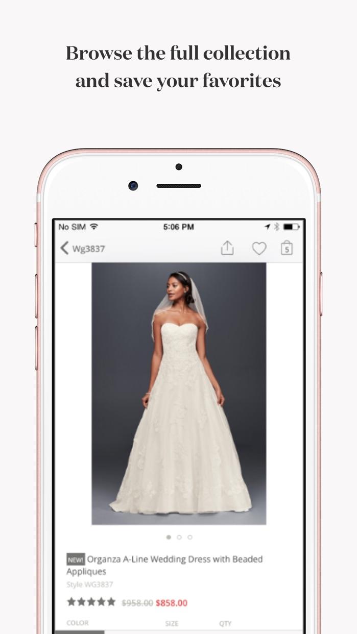 David's Bridal Wedding Dresses, Bridesmaids, Gifts Screenshot