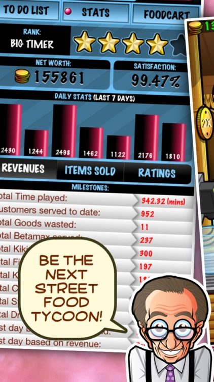 Street-food Tycoon Chef Fever: Cooking World Sim 2 screenshot-2