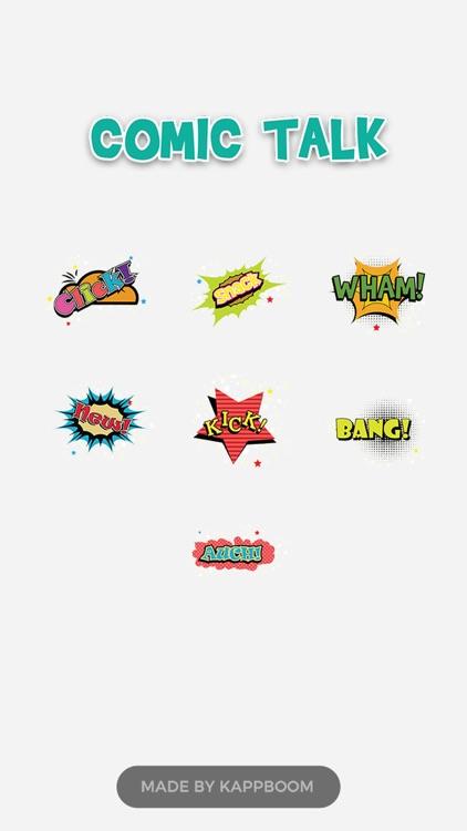 Comic Talk Stickers