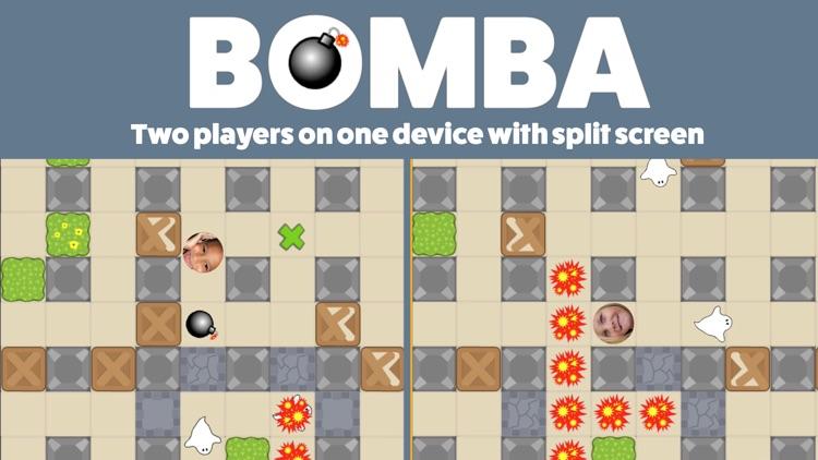 Bomba - 2 player split-screen classic bomber