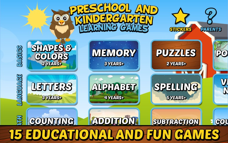 Screenshot 1 For Preschool Kindergarten Games