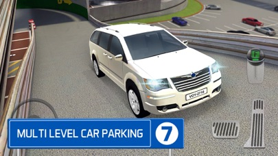 Multi Level 7 Car Parking Garage Park Training Lot App 截图