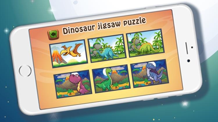 Dinosaur TRex jigsaw puzzles for kids