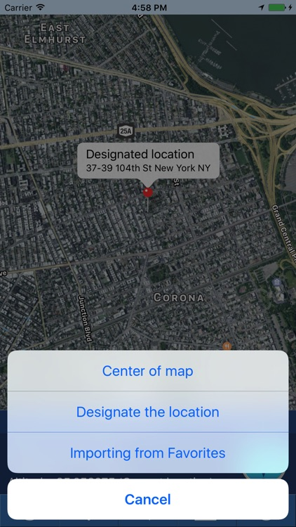 myLoc Pro: Search and share location screenshot-3