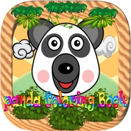 Lovely Panda Coloring Book For Kids