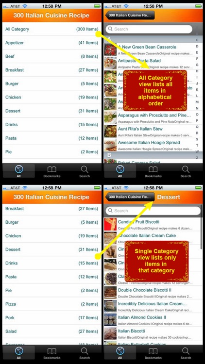 300 Italian Cuisine Recipe screenshot-4