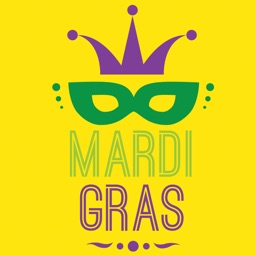 Mardi Gras Carnival Sticker Pack