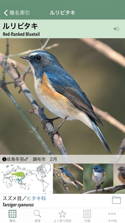 日本の野鳥(山溪ハンディ図鑑) screenshot-0