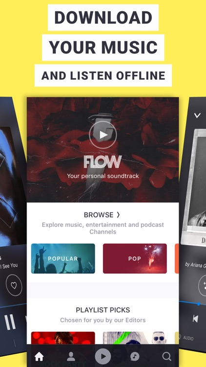 Deezer - Listen to your Favorite Music & Playlists app image