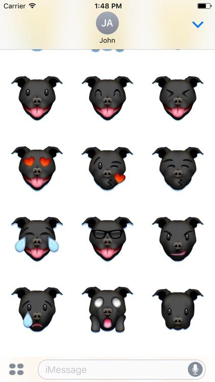 Pitmoji - Pitbull Emoji