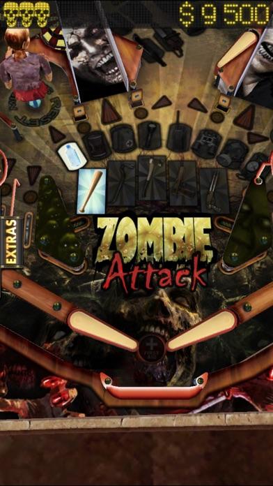 Zombie Attack Pinball HD: Monster Challenge screenshot four