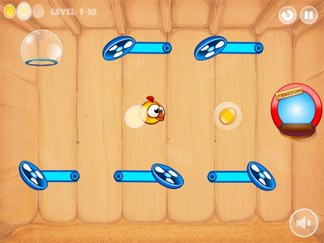 Birds Breakout, game for IOS