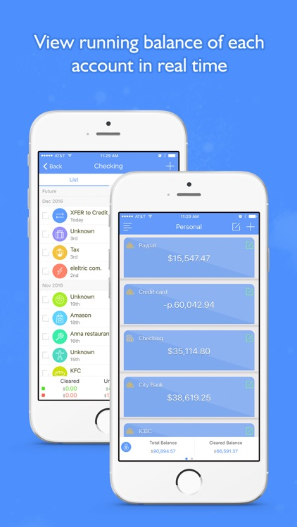 Money Focus Pro - Account, Budget and Bill Manager