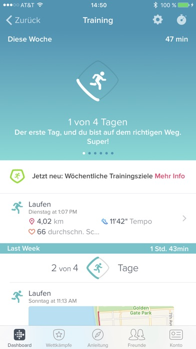 Fitbit Screenshot