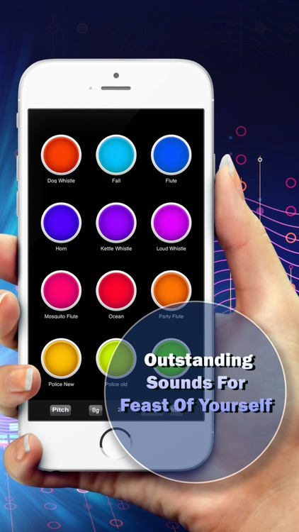 Whistle Sounds - Training Button Box Soundboard