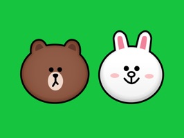 LINE's adorable couple Brown & Cony come to iMessage as a free pack of 30 fun-filled stickers