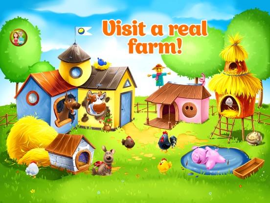 Ферма - Игра Уход за Животными на iPad