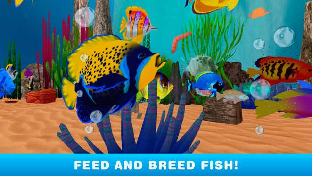 My virtual fish tank simulator aquarium 3d on the app store for Create your own fish