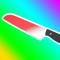 Bottle Flip vs Glowing Hot Knife Simulator