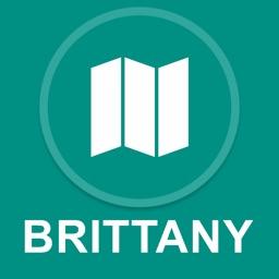 Brittany, France : Offline GPS Navigation