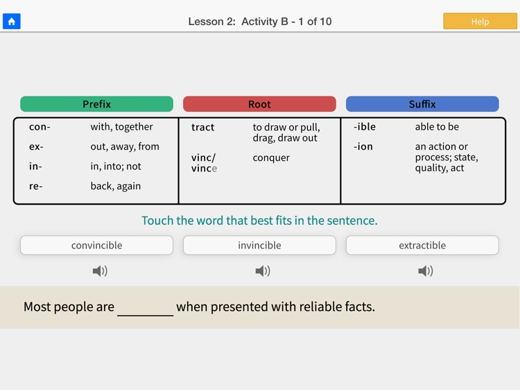 Word Roots Level 1 Lite
