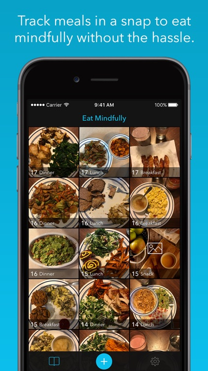 Mindfull Meal Tracker & Food Diary / Journal