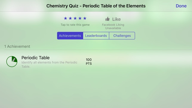 Chemistry Periodic Table Of The Elements Quiz On The App Store