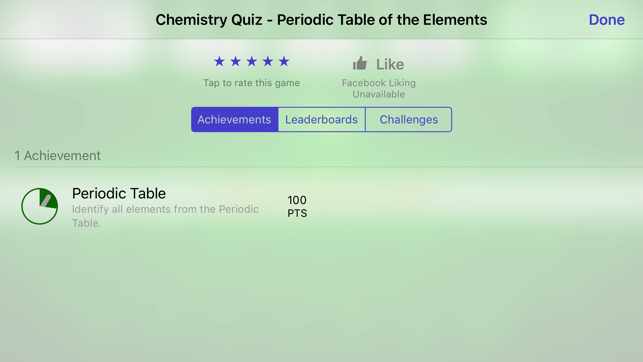 Chemistry periodic table of the elements quiz on the app store urtaz Choice Image