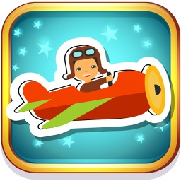 AeroPlane Coloring Book for Kids Preschool Toddler
