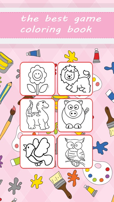Coloring Book for Kids and Preschool Toddler Learn - App - Mobile Apps