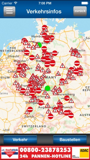 Ferienfahrverbot Lkw 2017 Karte.Fahrer App Im App Store