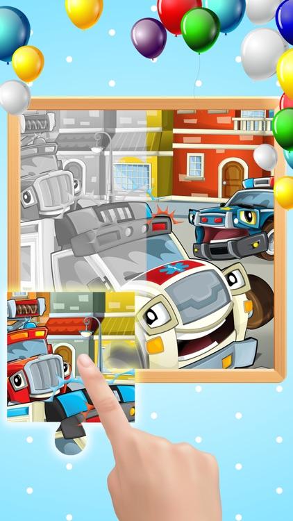 Cars Puzzles Game screenshot-4