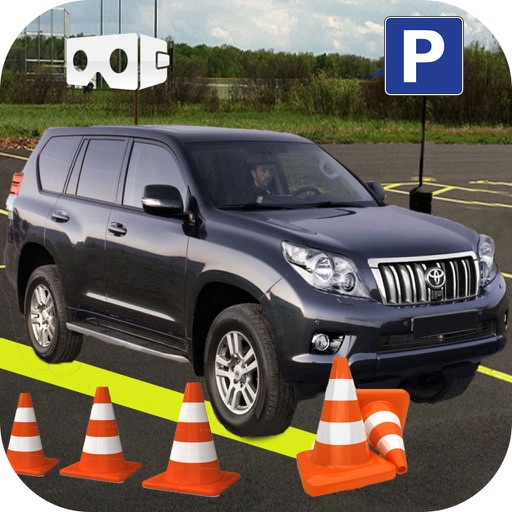 VR Prado Car Parking : Multi-Story Top Kids Game