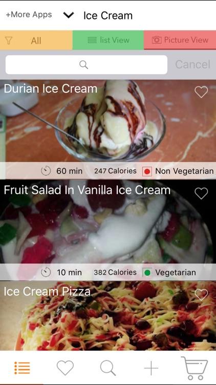 Ice Cream Recipes - Recipes for Kids, Sorbet screenshot-3