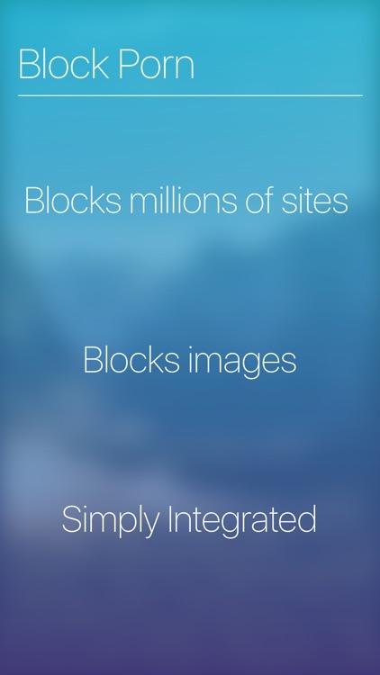 Blockade - Block Porn, Inappropriate Content & Ads