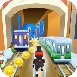 Subway Ninja Gold Run